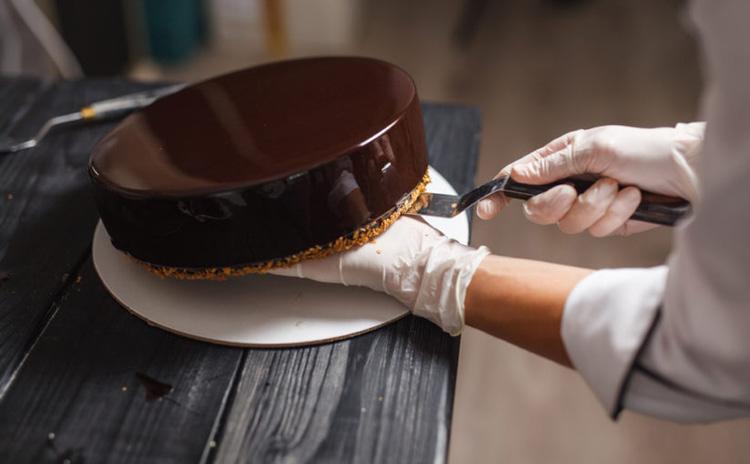 Cobertura chocolate espejo
