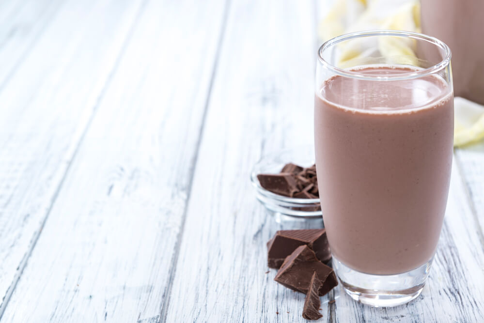 Leche con chocolate beneficios